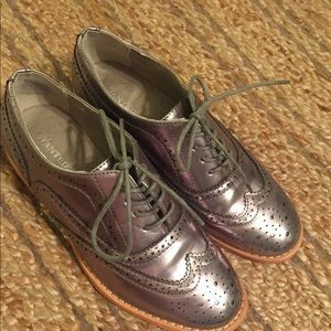New Cute Pewter Oxfords